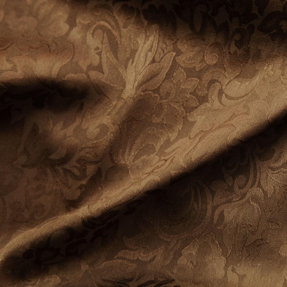 画像1: ワイルドラグ(カウボーイ大判スカーフ)ブラウン/100% Silk Wild Rags(Brown) (1)
