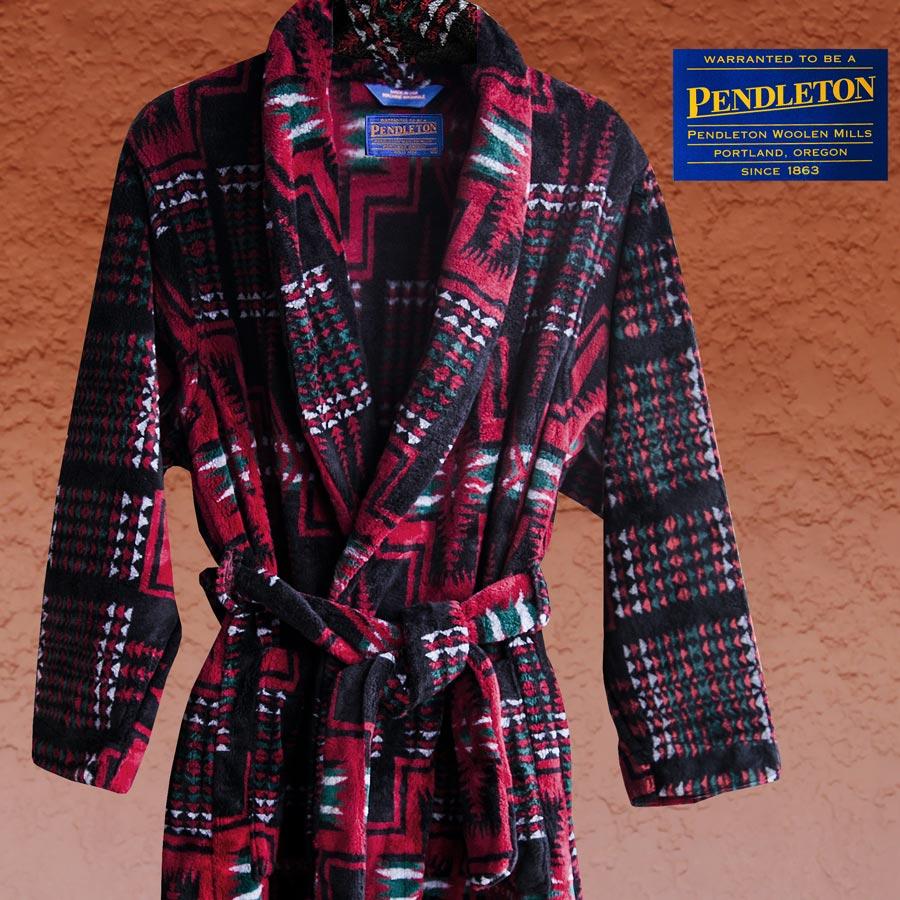 画像1: ペンドルトン ハーディング ウエスタン ローブ・ガウン/Pendleton Washable Robe(Harding) (1)