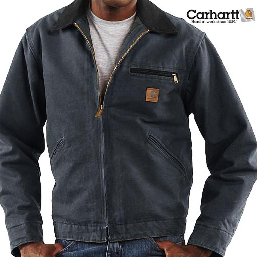画像1: カーハート デトロイト ジャケット J97(ペトロー)/Carhartt Detroit Jacket(Petrol) (1)