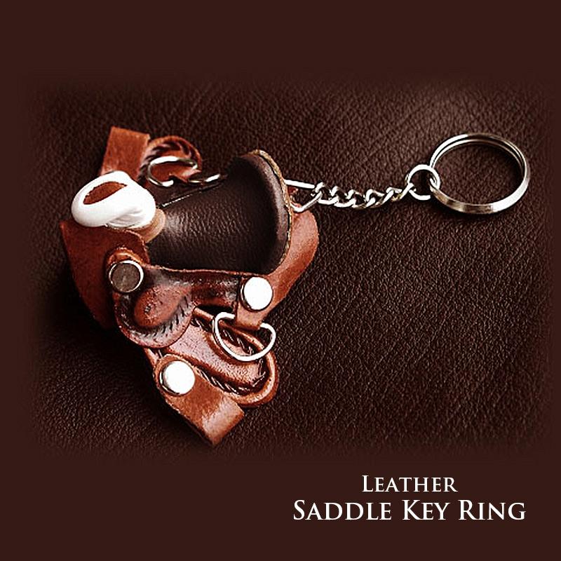 画像1: サドル キーリング/Key Ring (1)
