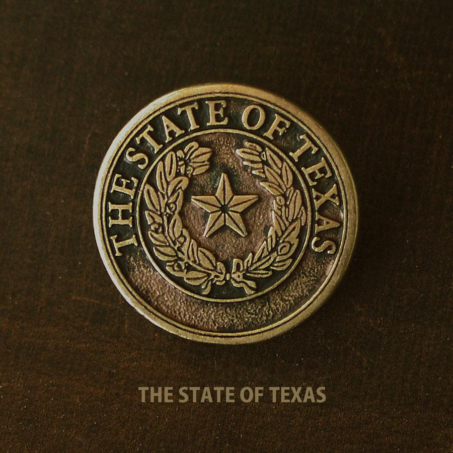 画像1: テキサス  ハット ピン ゴールド/Hat Pin (1)
