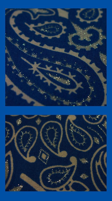 画像3: バンダナ ハバハンク HAV-A-HANK ペイズリー(ブルー・ホワイト)/Bandana Paisley  Blue White