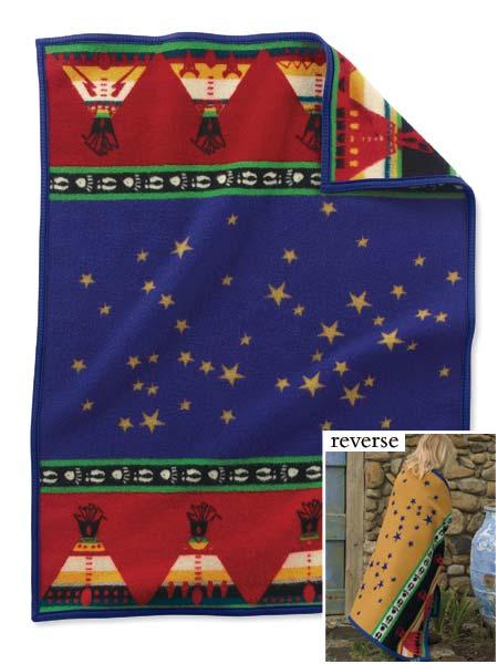 画像1: ペンドルトン ムチャチョ ベビー ブランケット/Pendleton Muchacho Baby Blankets(Chiefs Road) (1)