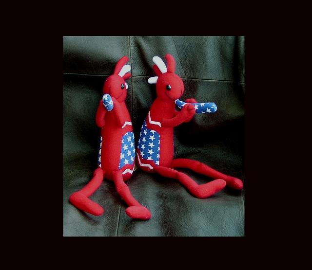 画像1: USA・アメリカココペリドールM/Kokopelli Doll(U.S.A) (1)